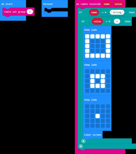 Screenshot of Basic Receiving Code