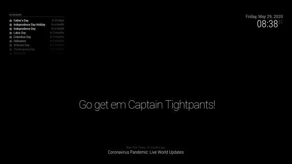 Go Get em Captain Tightpants
