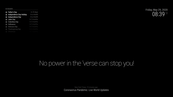 No Power In The Verse Can Stop You