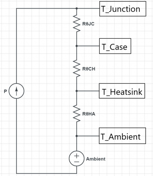 Thermal Circuit Schematic