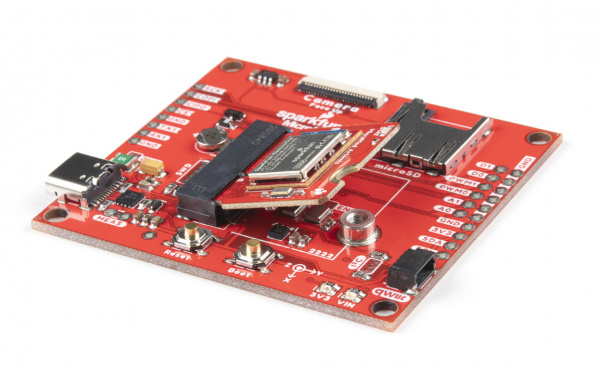 MicroMod Processor Board inserted into the carrier board