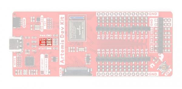 interface chip status LEDs