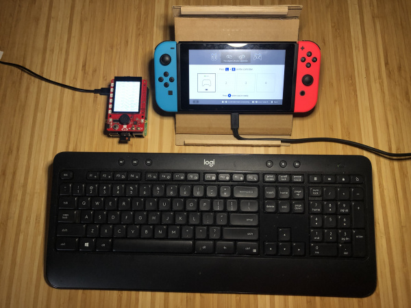 Raspberry Pi Connected to Nintendo Switch