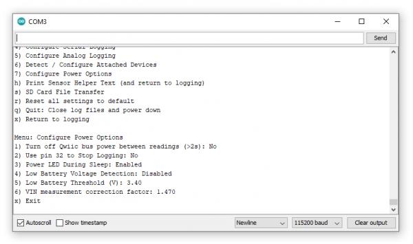 Configure Power Options