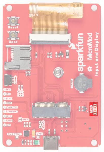 JTAG debugging pins