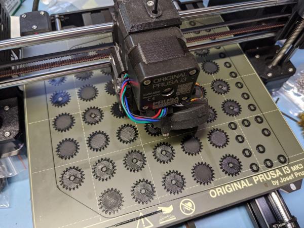 Batch 3D brinting working design