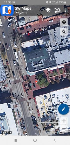 SW Maps app