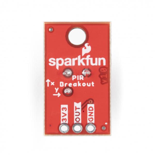 SparkFun PIR Breakout - 1uA Back.