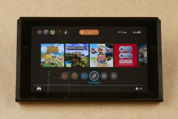 Nintendo Main Screen