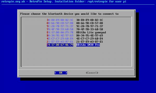Mac Address for 8BitDo SN30 Pro tutorial