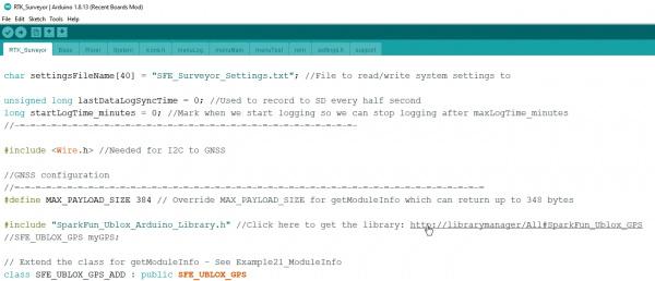 Arduino Library Links