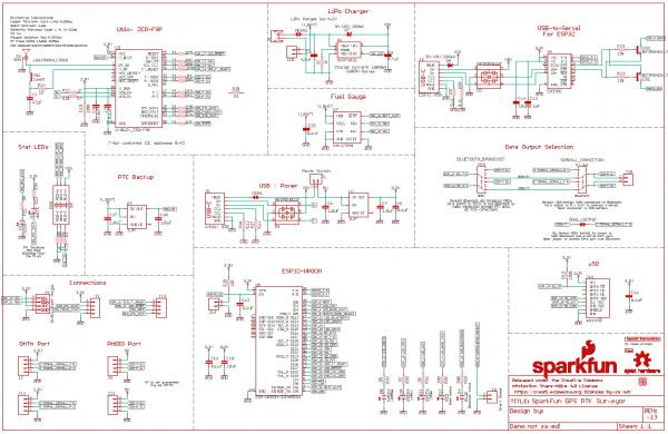 RTK Survayor Schematic