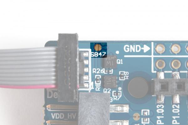 SB47 Jumper is highlighted