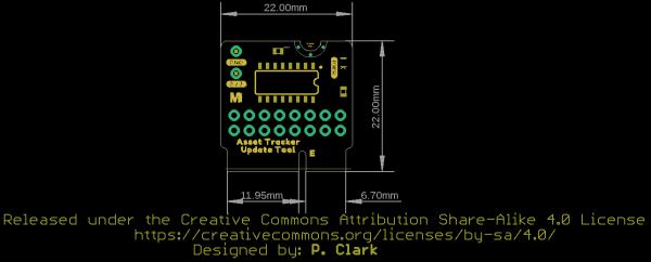 MicroMod Update Tool Board Dimensions