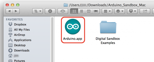 Mac Custom Arduino with ArduBlock