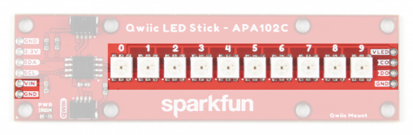 Highlighting APA102 LEDs