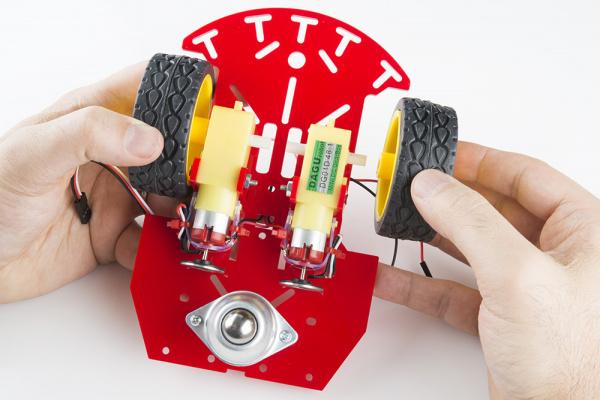 Adding wheel