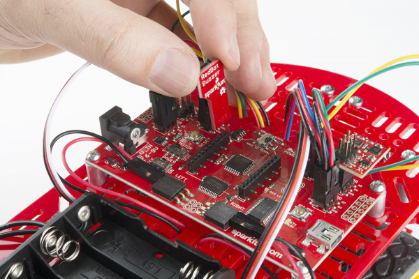 Adding the RedBot Buzzer