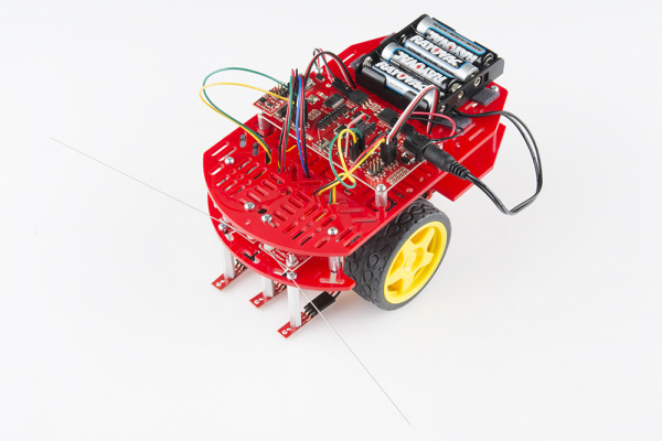 Assembled RedBot Kit from SparkFun