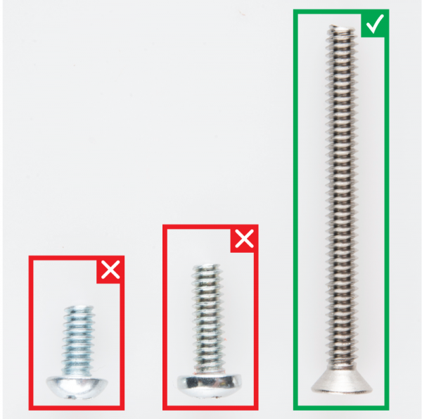 Screw - Flat Head