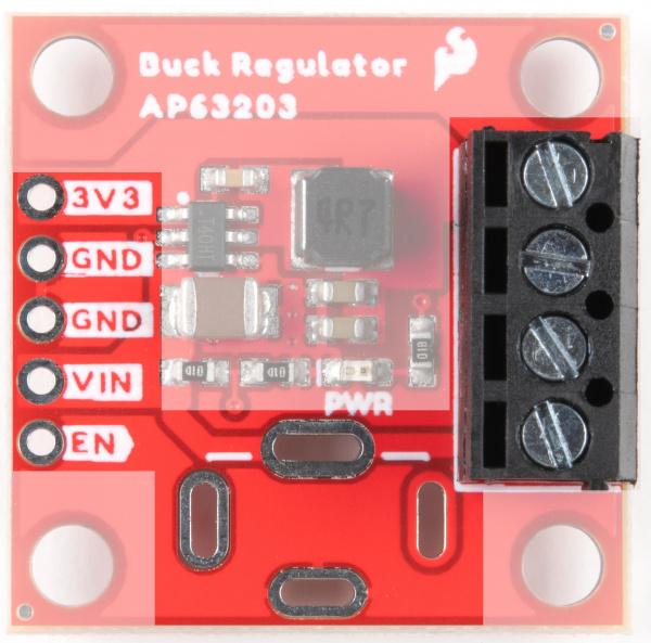 Power options for the Buck Regulator