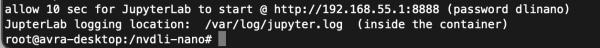 JupyterLab Launch