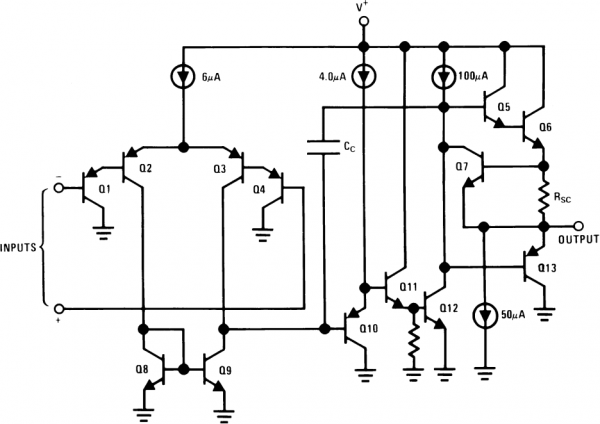 LM358 circuit