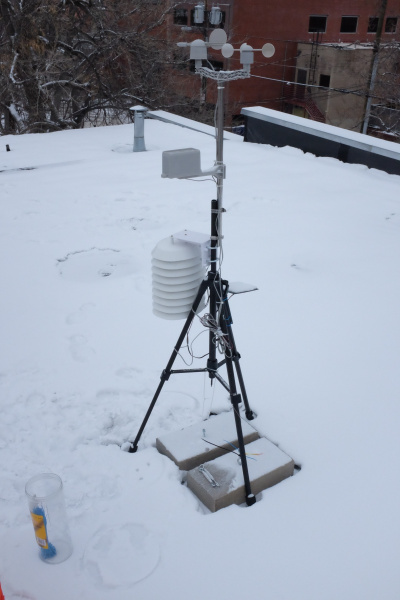 Weather station setup number 2