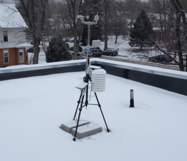 Weather station setup number 1