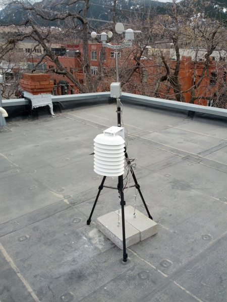 Weather station setup