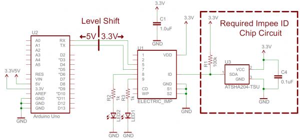 Imp-to-Arduino Schematic