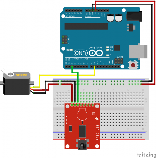 RFID USB Reader Fritzing Diagram