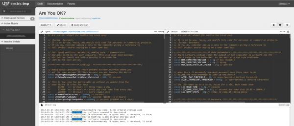 Imp IDE Example