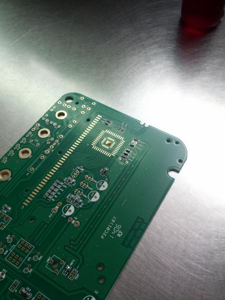 Glue dot on PCB