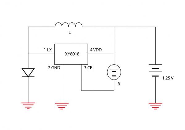 original solar light schematic