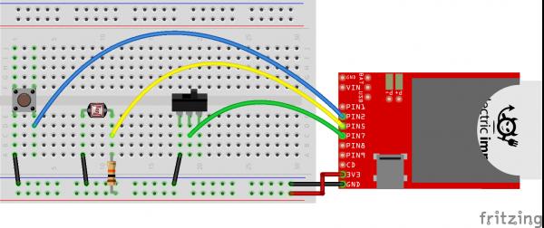 Electric Imp example circuit