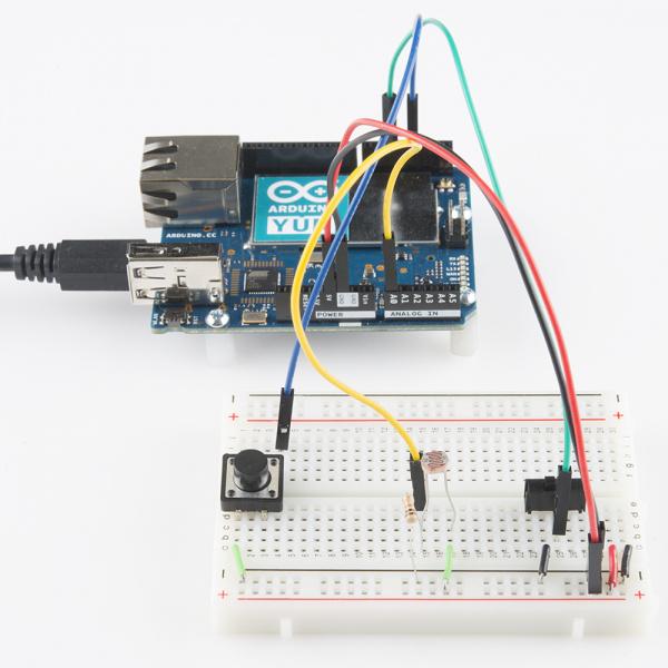 Arduino Yun circuit