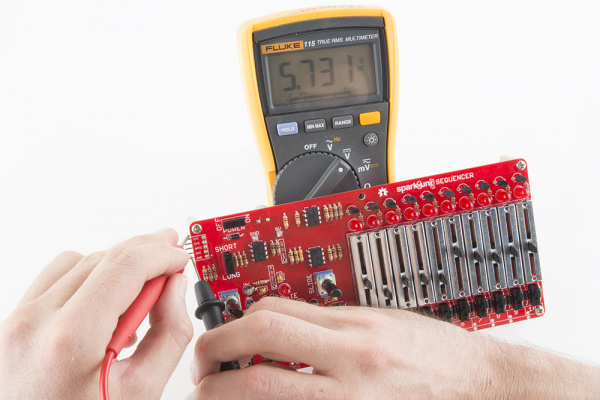 Checking Output Voltage