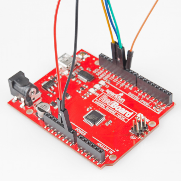 Arduino wired
