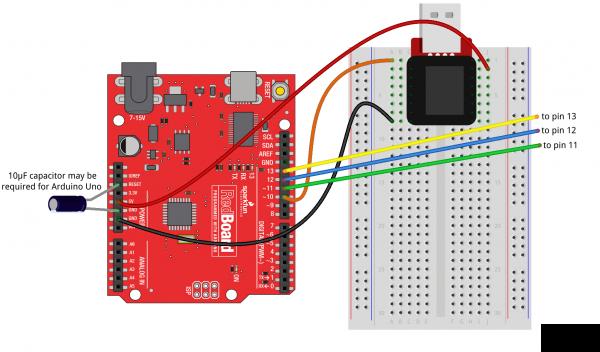 ArduinoISP fritzing diagram