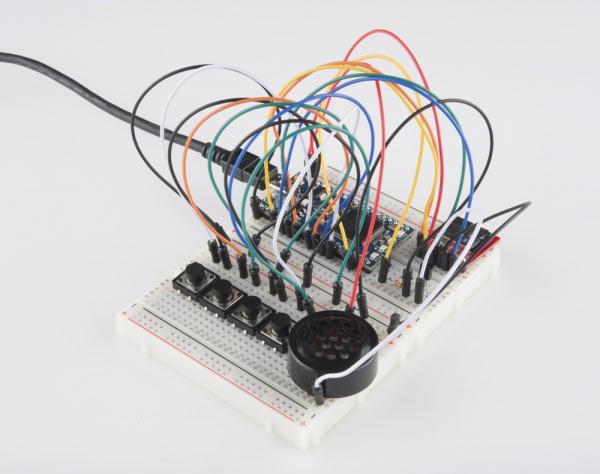 mbed soundboard circuit