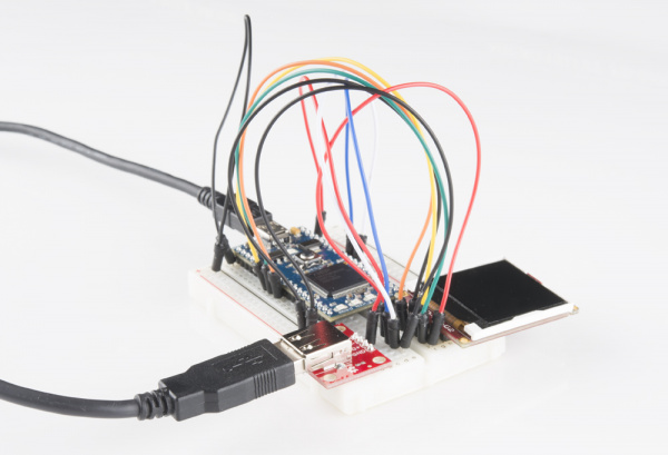 mbed USB host keyboard circuit