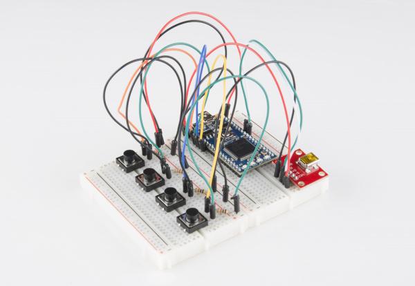 mbed USB device circuit