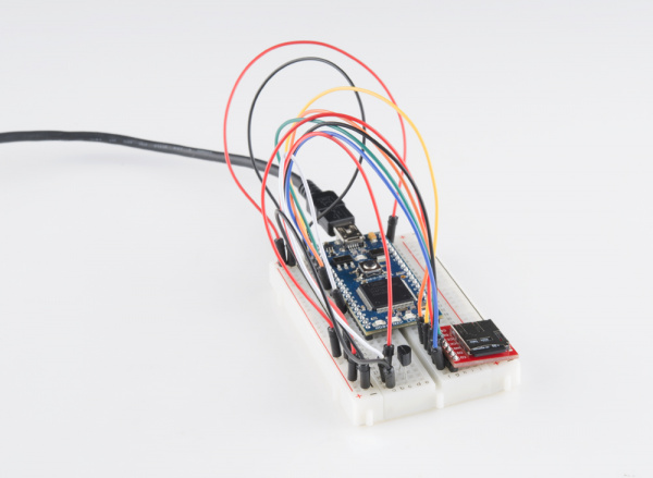 mbed temperature logging circuit
