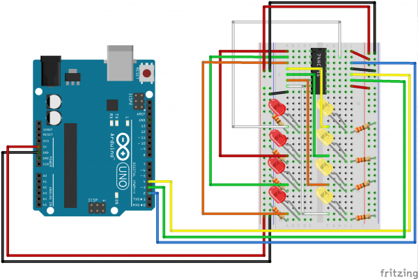 Arduino Hook up image