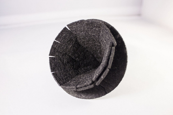 Fringe Hat Inside View