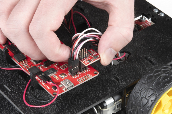 Adding the accelerometer to the RedBot