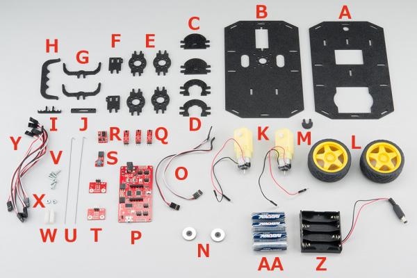 RedBot Kit parts