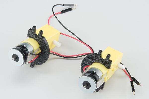 Both rear motor mounts on the motors