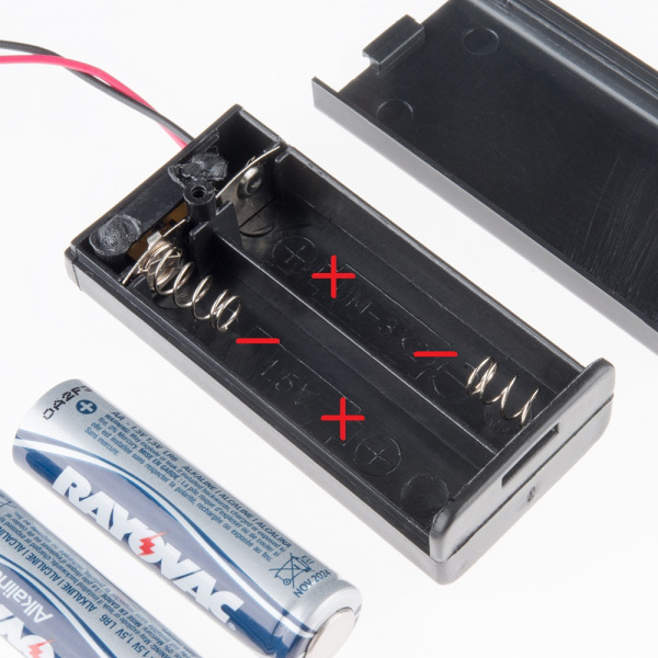 Markings in battery pack